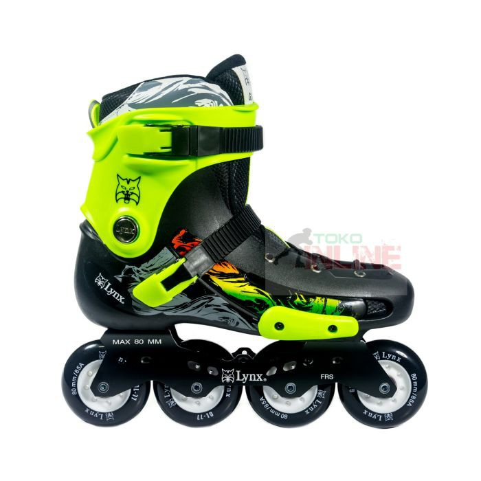 Promo Inline Skate Lynx SPH30 Black Sepatu Roda Lynx Speed Hitam Gratis  Ongkir  f953f8c92e