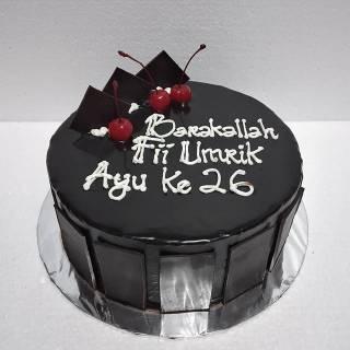 Kue Ulang Tahun Black Forest Birthday Cake Kue Ultah Shopee Indonesia
