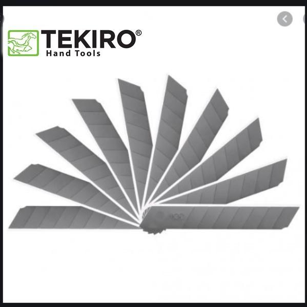 Tekiro Anak Pisau Cutter Besar / Anak Pisau Cutter 18mm / Refill Pisau Cutter / Mata Pisau Cutter (1