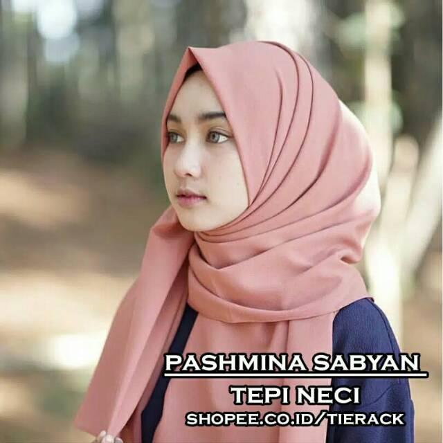 Pashmina Sabyan Hits Bahan Bagus Shopee Indonesia