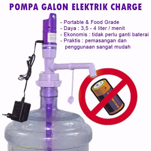 POMPA AIR GALON ELEKTRIK / Dispenser air elektrik Pompa galon elektrik aqua | Shopee Indonesia