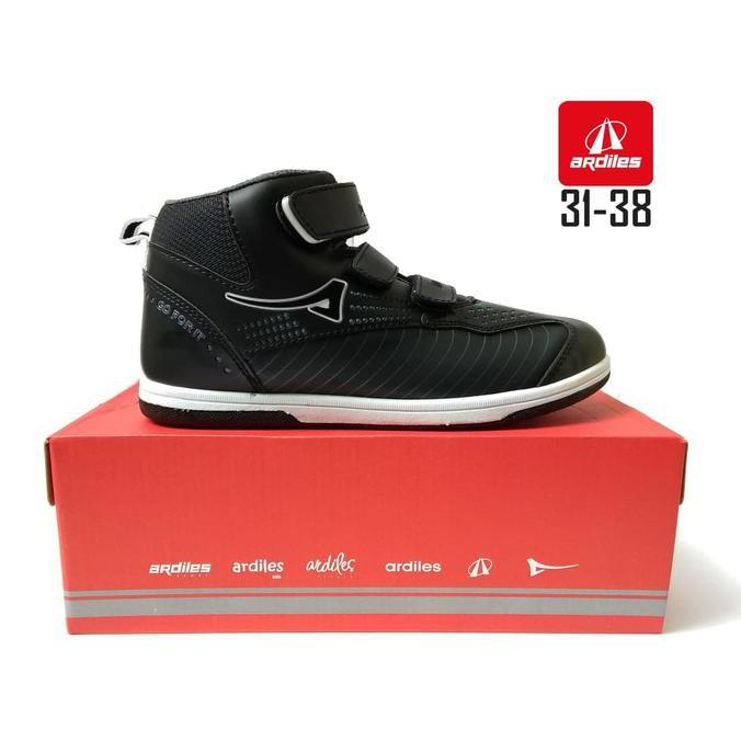 Sepatu Sepatu Sekolah Anak Ardiles Genoves Hitam Sepatu Anak Sd