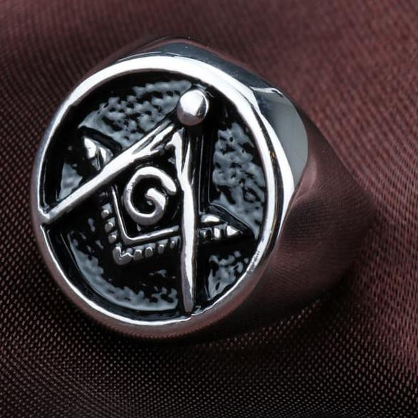 BiG PROMO character ring Freemasons cincin illuminati old skull Freemason  ring  ,, , ,