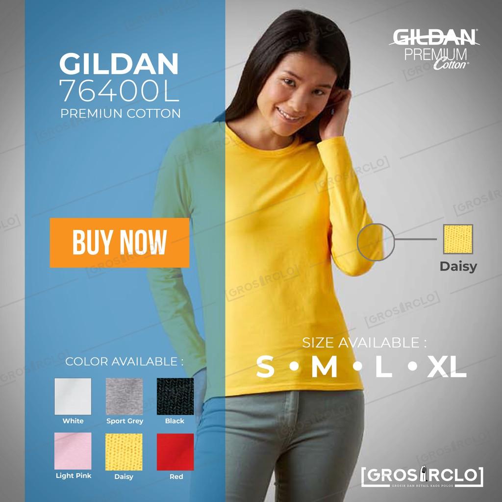 Grosir Clo Kaos Polos Gildan Premium 76000 Original Import Murah Size Xxl Softstyle 63000  Jakarta Shopee Indonesia