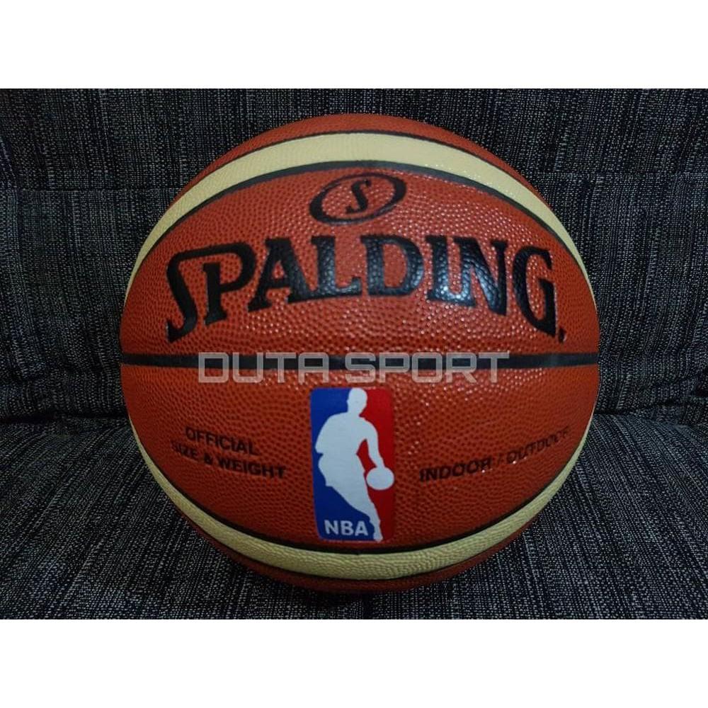 Bola Basket Spalding Gold Nba Indoor Outdoor Sports Olahraga Size 7 Cuci Gudang Cocok Latihan Murah