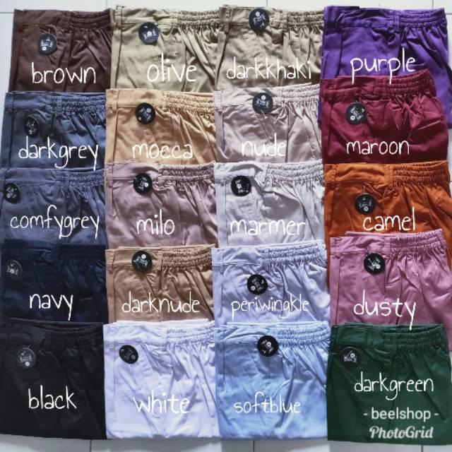 SERI C Baggy Pants Resleting Premium Celana Wanita Hijab   Sopan   Kerja  489a707f07