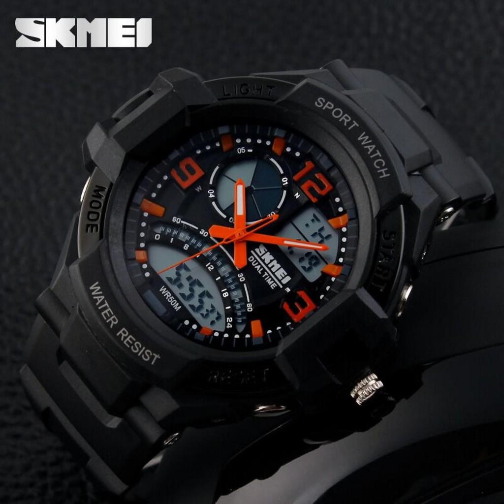 Turun Harga Skmei S Shock Sport Watch Water Resistant 50m Dg1025 Shopee Indonesia
