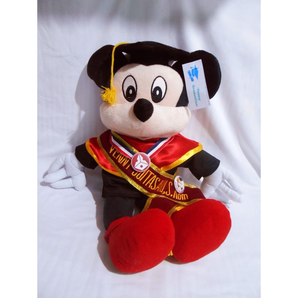 boneka bandung Boneka Wisuda Mickey Mouse  1810a707d5