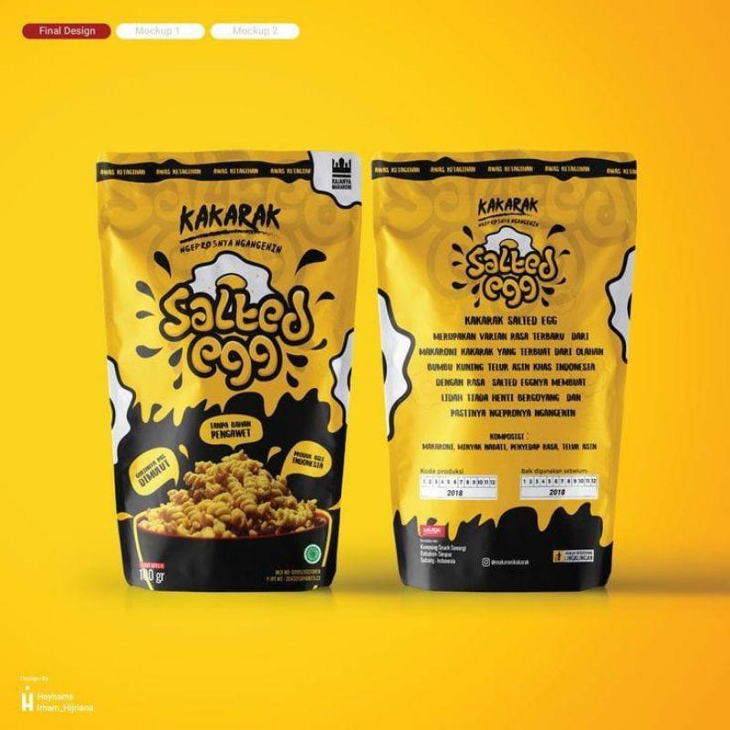 Standing Pouch Kemasan Snack Fullprint Fullcolour Custom