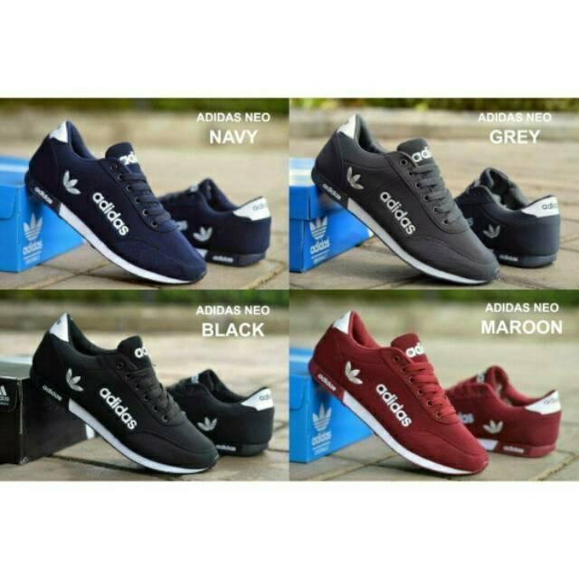 Sepatu Adidas Alphabounce Import Premium Sneakers Pria Wanita Fullwhite  Black Pink Navy Abu Terlaris  4ac2cd1107
