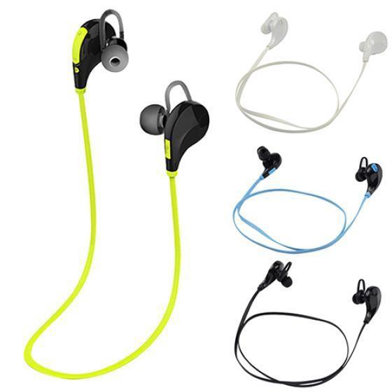 Earphone Handsfree Sport Stereo Bluetooth Wireless RMS 2x18mw Charging untuk iPhone