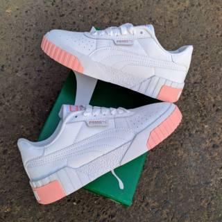 variety design good looking buy good 100% PREMIUM Puma cali white pink