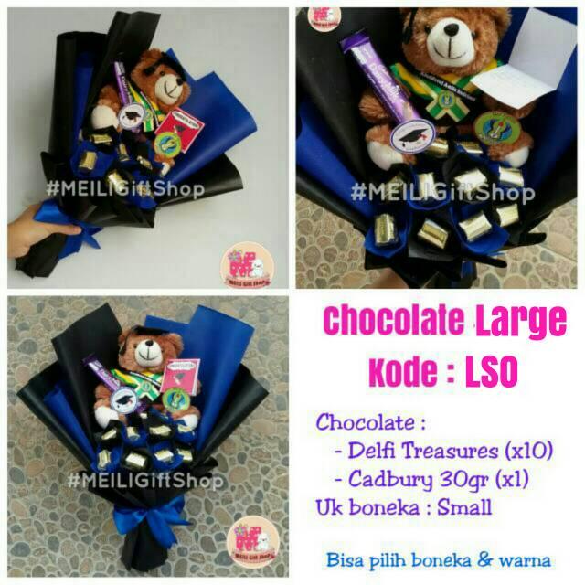 Buket Coklat Ferrero Rocher / Ferrero Bouquet Wisuda Gold Tosca Murah | Shopee Indonesia