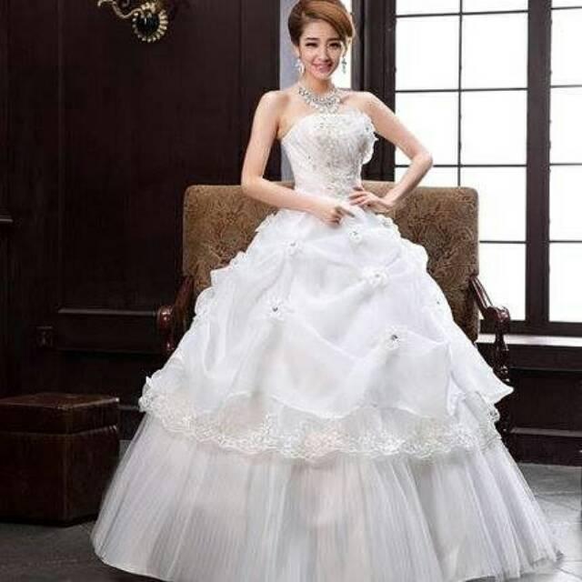 Gaun Pengantin /Wedding gown ...