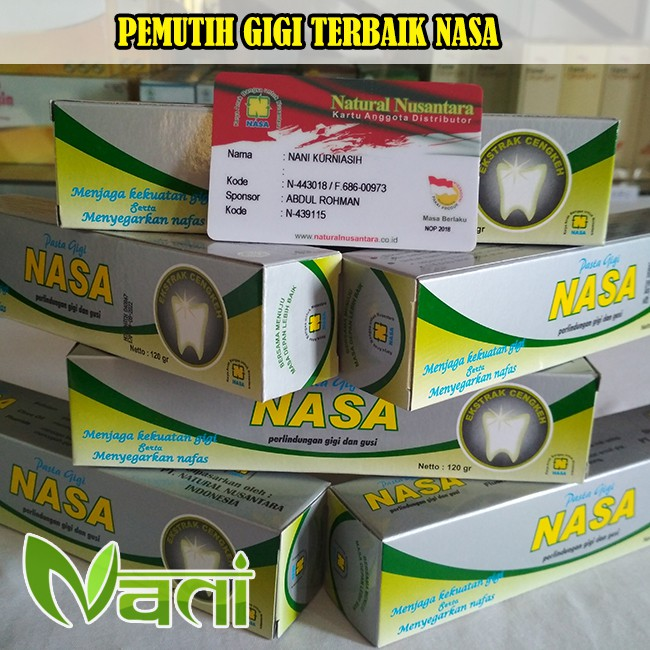 Pemutih Gigi   - Pasta Gigi Nasa (PGN ) Mengatasi Radang Gusi ... 586ca08205