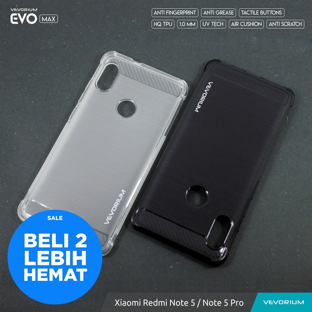 low priced 3ffd7 20635 [SALE] VEVORIUM EVO MAX Xiaomi Redmi Note 5 Note5 Pro Anti Crack Soft Case