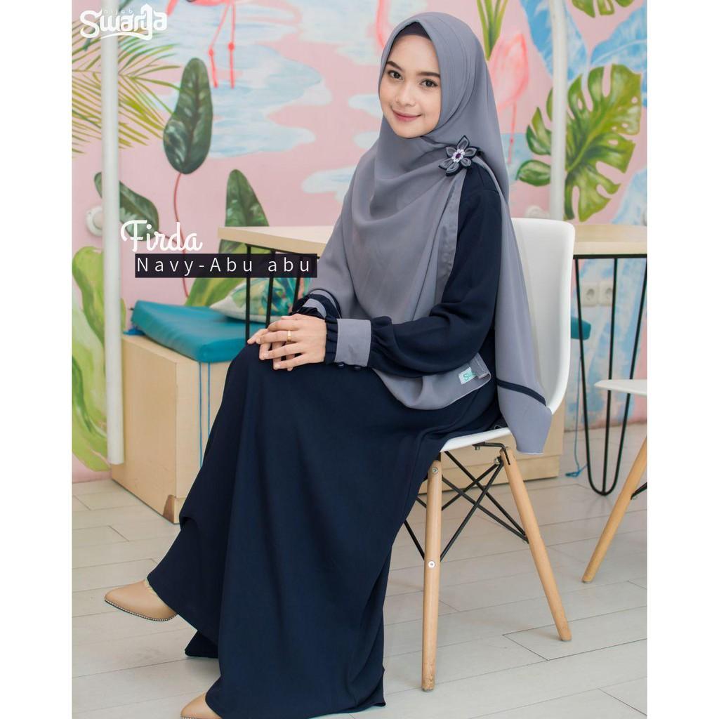Gamis Firda Only By Swarga Hijab Syariah Gamis Jumbo Gamis Muslimah Gamis Terbaru Gamis Ori Shopee Indonesia