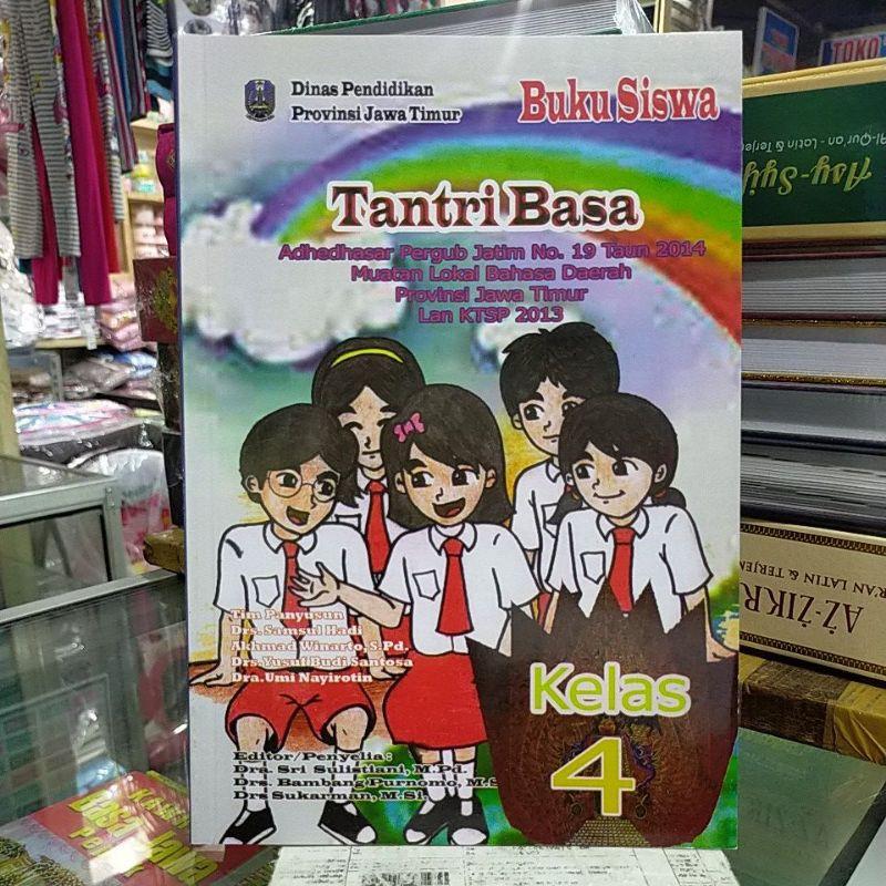 Buku Paket Tantri Basa Kelas 4 Sd K 13 Shopee Indonesia