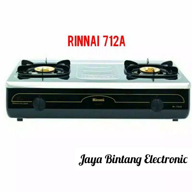 Rinnai Kompor Gas 2 Tungku Jumbo RI - 712A