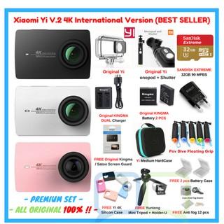 Bekas Kamera Xiaomi Yi Action Camera Lengkap Bonus Tongkis