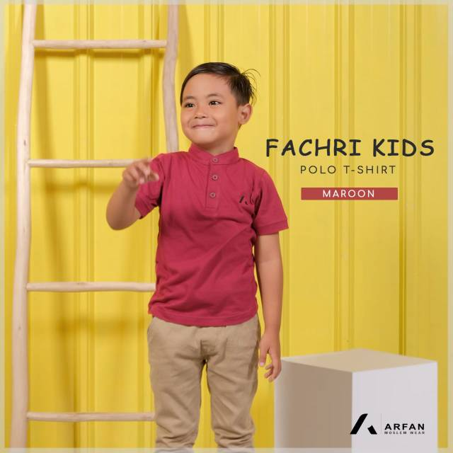 Fahri Polo T-shirt kids by Arfan