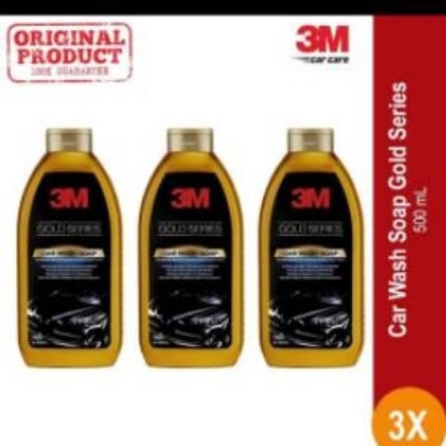 3m Shampoo Mobil Each Car Wash Soap Gold Series Harga Satuan Shopee Indonesia