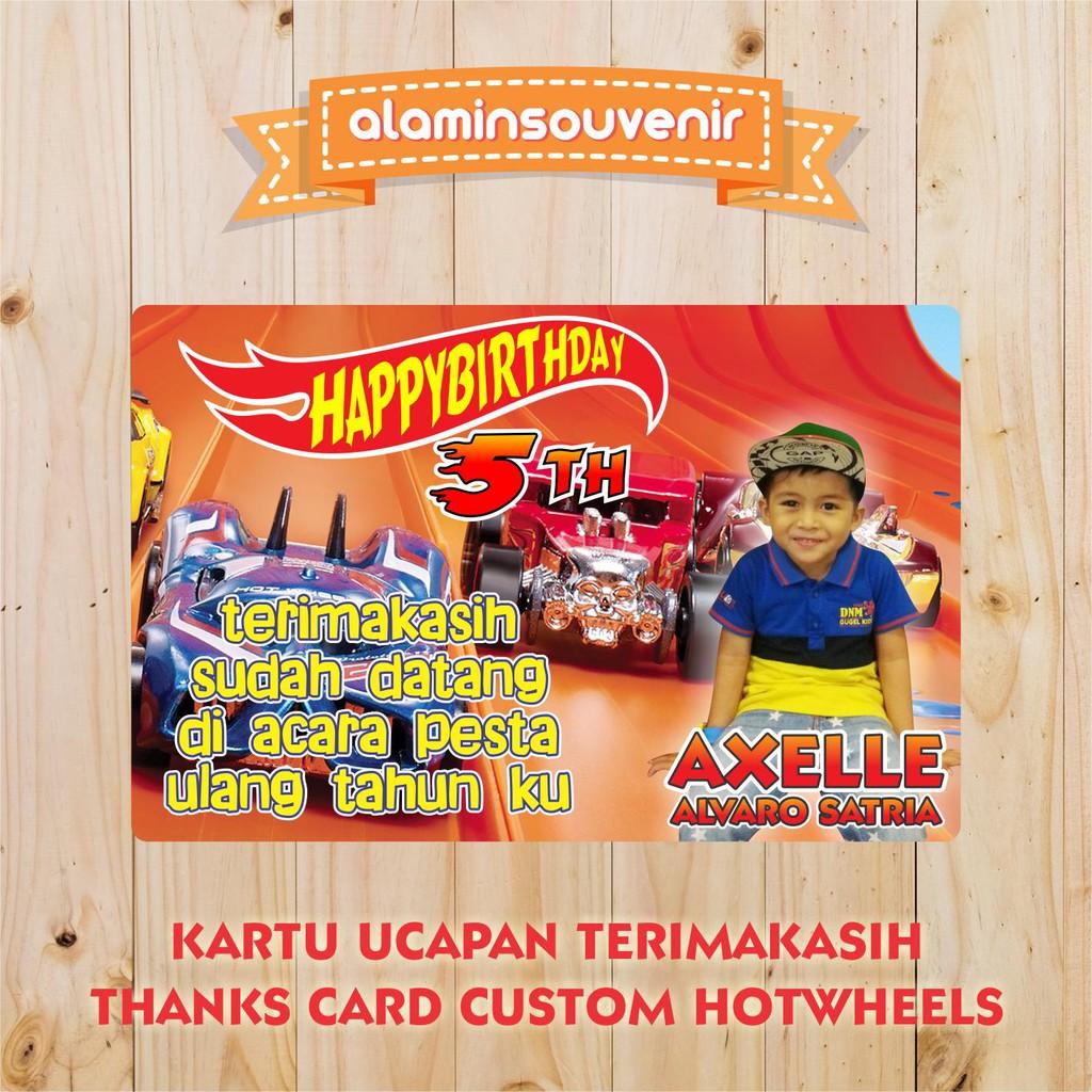 Desain Kartu Ucapan Terima Kasih Ulang Tahun Anak ...