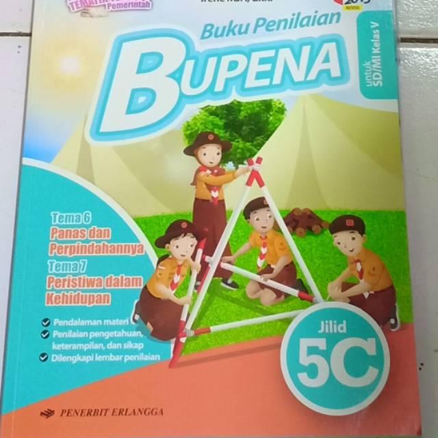 Bupena 5c Tema 6 Dan 7 Untuk Sd Mi Kelas 5 K13 Shopee Indonesia