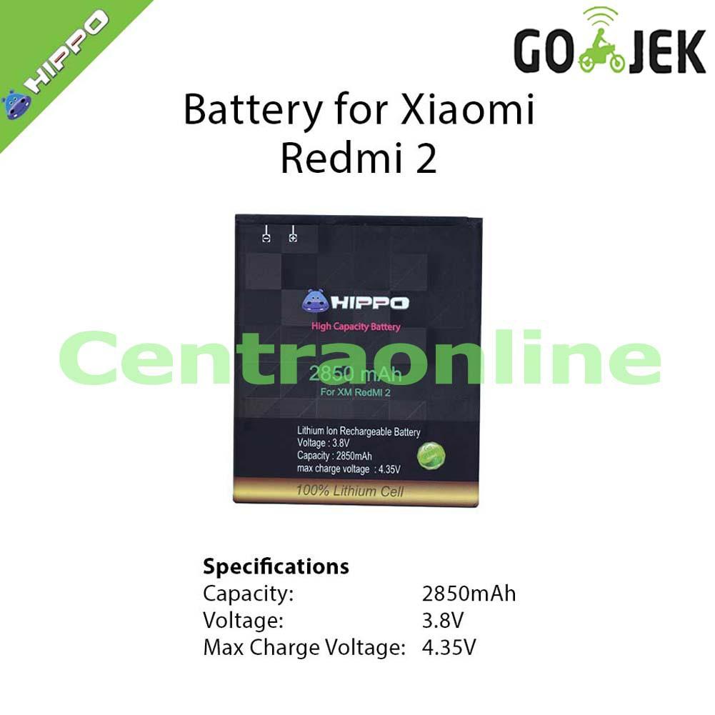 Hippo Baterai Xiaomi Redmi 2 Bm44 2850mah Shopee Indonesia Batre Battery 2s Prime Bm 44 Original Batrei Batterai Xiao Mi Ori Xiomi