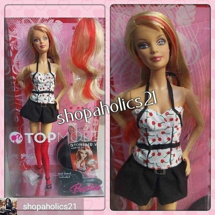 Mainan Barbie Boneka Barbie Barbie Mattel Top Model Hair Wear Shopee Indonesia