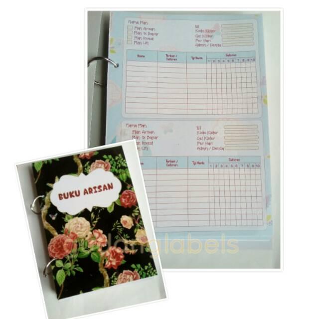 Buku Arisan Fullcolor