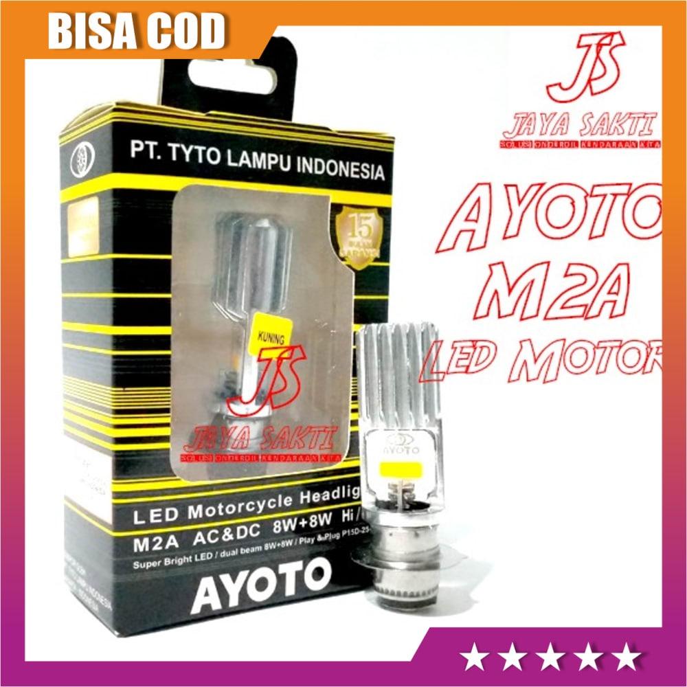 READY Led Ayoto Kuning M2A H6 - Putih MURAH
