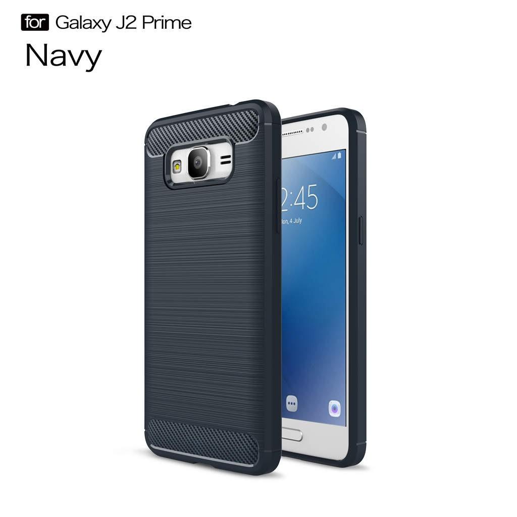 "[Bayar Di Tempat] For Samsung Galaxy J2 Prime 5.0"" Case Carbon Fiber Shockproof"