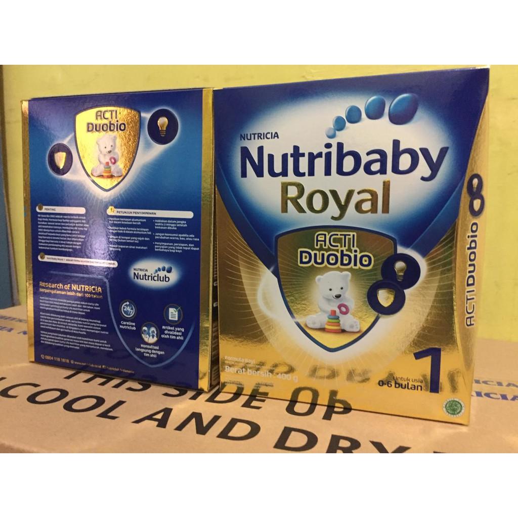 Nutribaby Royal Acti Duo Bio 1 400gr Shopee Indonesia Nutrilon 3 Susu Pronutra Soya Box 350gr Khusus P Jawa