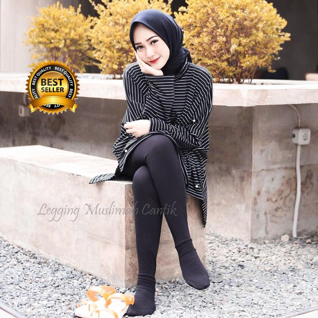 Star Seller Legging Wudhu Adem Cantik Leging Celana Wudhu Mewah Murah Warna Navy Shopee Indonesia