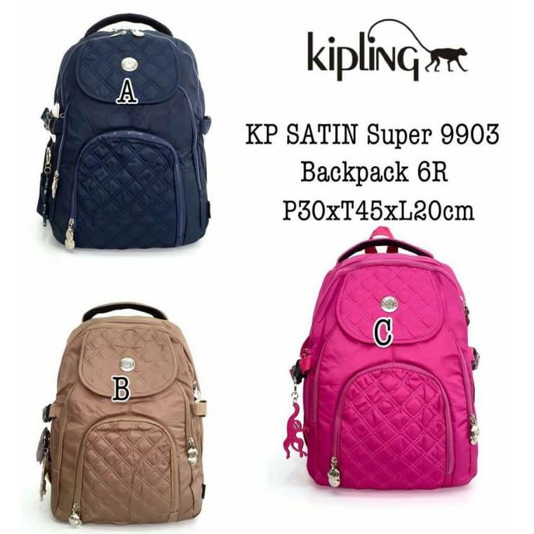 Tas Kipling SATIN Super 9903  Backpack 6R  068333dc14