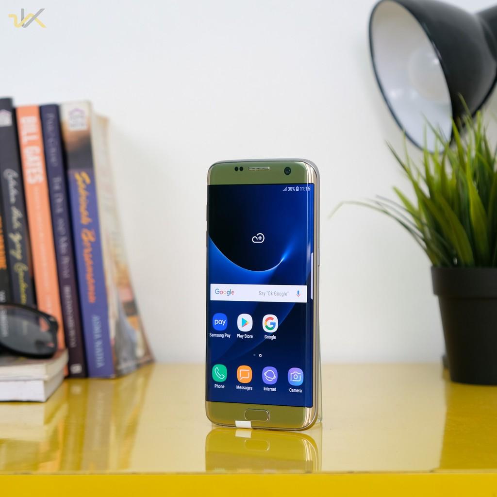 Samsung Galaxy S7 Edge Duos Sm G935fd Fullset Shopee Indonesia Garansi Resmi Sein