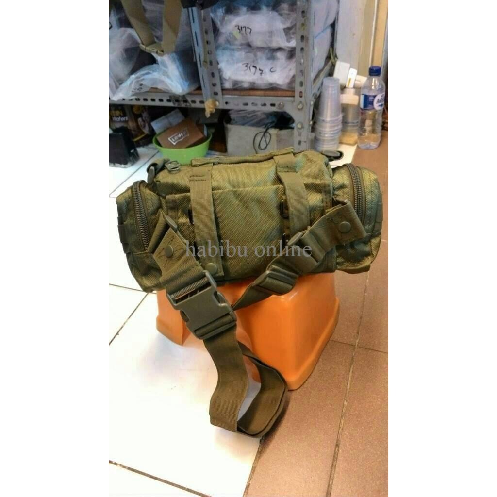 Tas Selempang Army Import 803 Banyak Warna Paling Laris Peria Shopee Indonesia