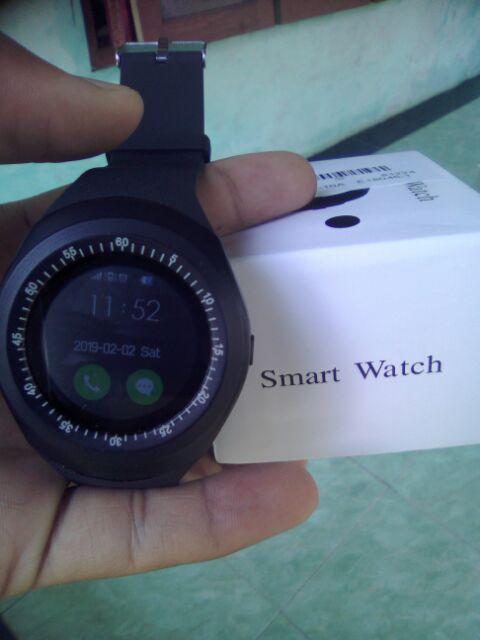 Bayar di Tempat Y1 Smartwatch GSM Sim With Camera Card Smart