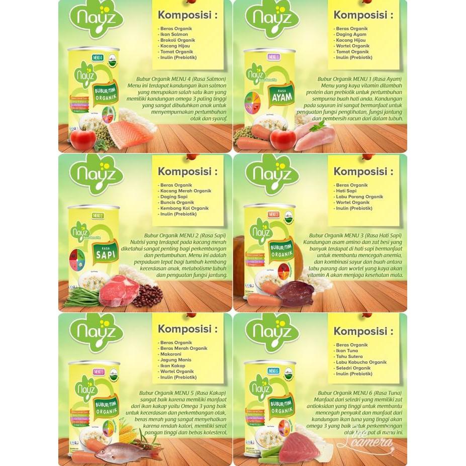 Bubur Bayi Organic Temukan Harga Dan Penawaran Makanan Online Nayz Beras Organik Bebiluck Kemasan Box Terbaik Ibu November 2018 Shopee Indonesia