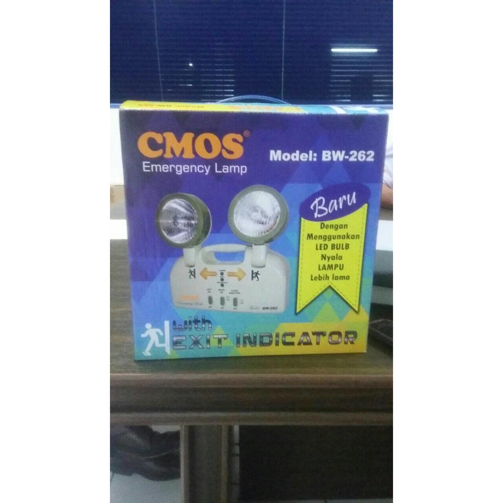 Cmos Emergency Lamp Hk 60l Lampu Darurat Berkualitas Kuat 15 Jam Krisbow Teknologi Dimmer Led Shopee Indonesia