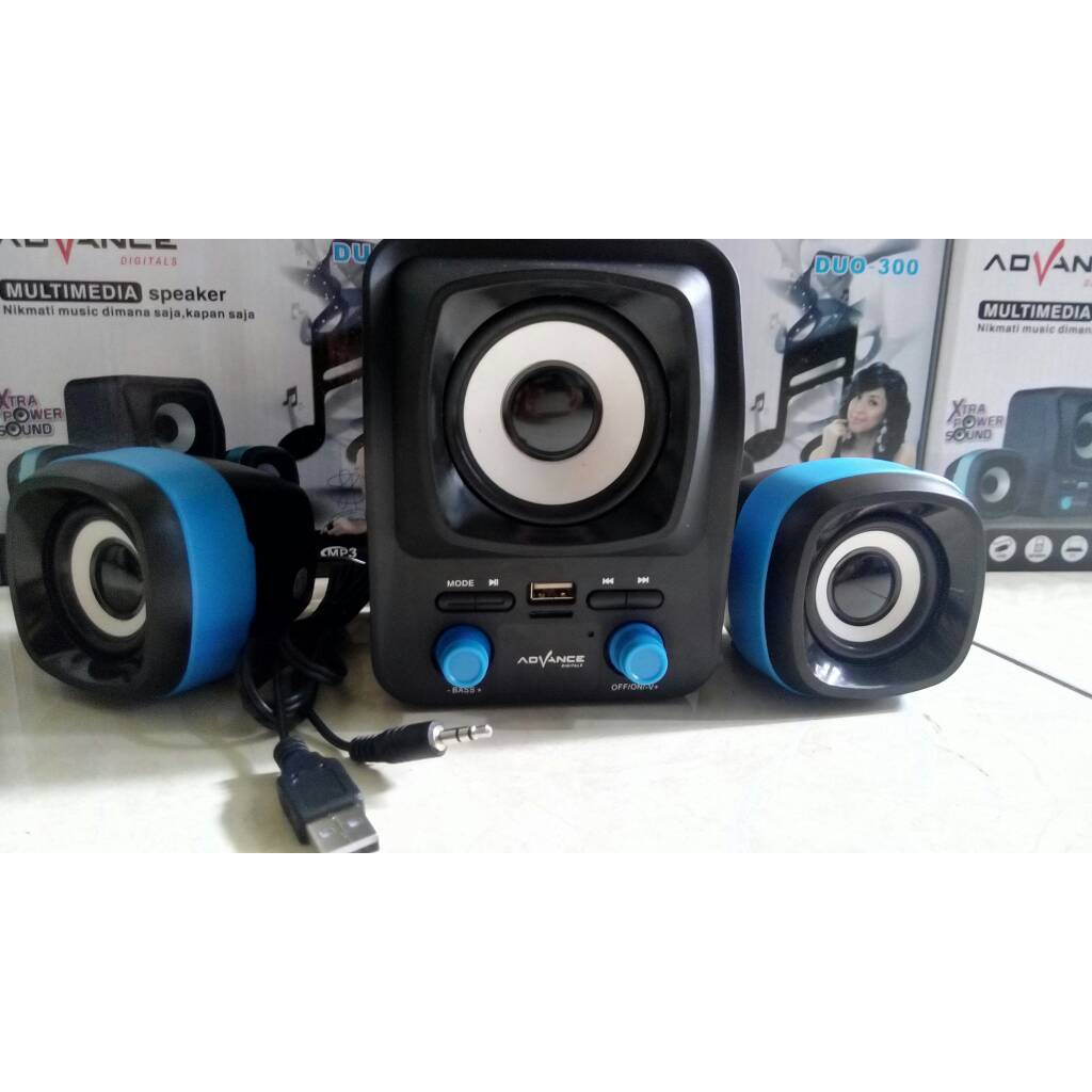 Speaker Advance Duo 070 Shopee Indonesia 300 Komputer