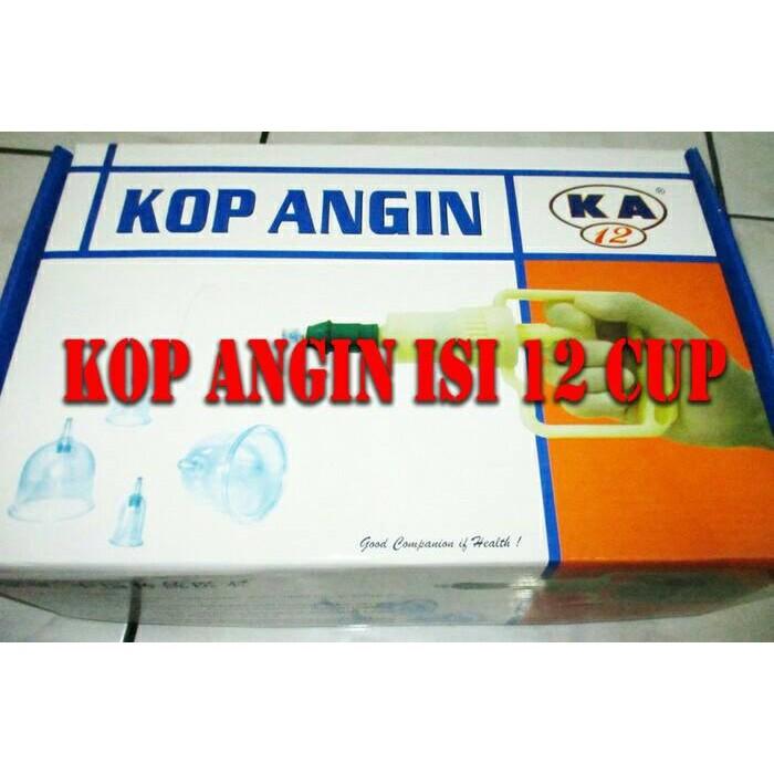 Alat Cop Bekam Kop Angin set 6 Cups .