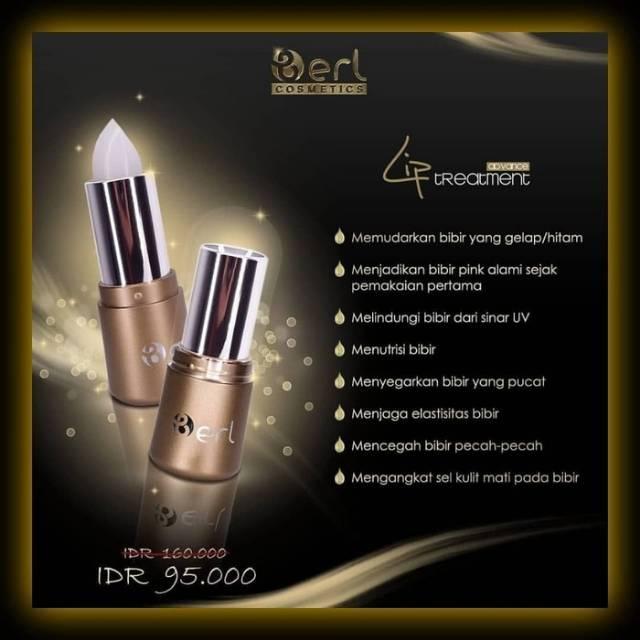 Pelembab Bibir B ERL COSMETIC - Lip Treatment Lipstic Vitamin - Lip Balm