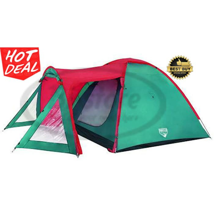 Original Tenda Ocaso X3 Tent Pavillo Camping Gear Bestway 68011 Berkualitas Shopee Indonesia