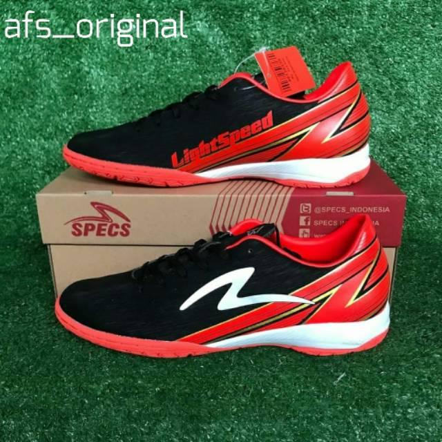 Terbaru Ready Stok Sepatu Futsal Specs Sepatu Futsal Accelerator Lightspeed 2020 Original Specs Shopee Indonesia