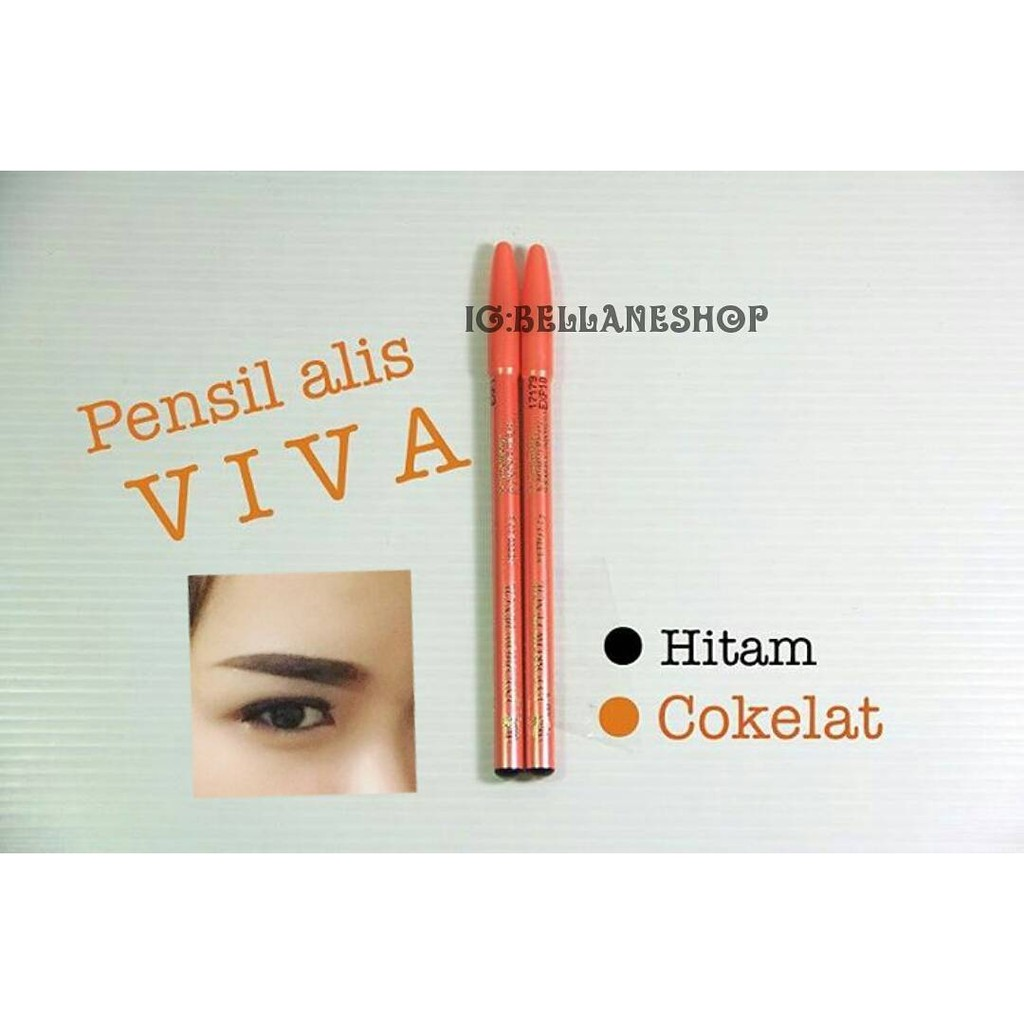 Viva Shopee Indonesia Pensil Alis Original