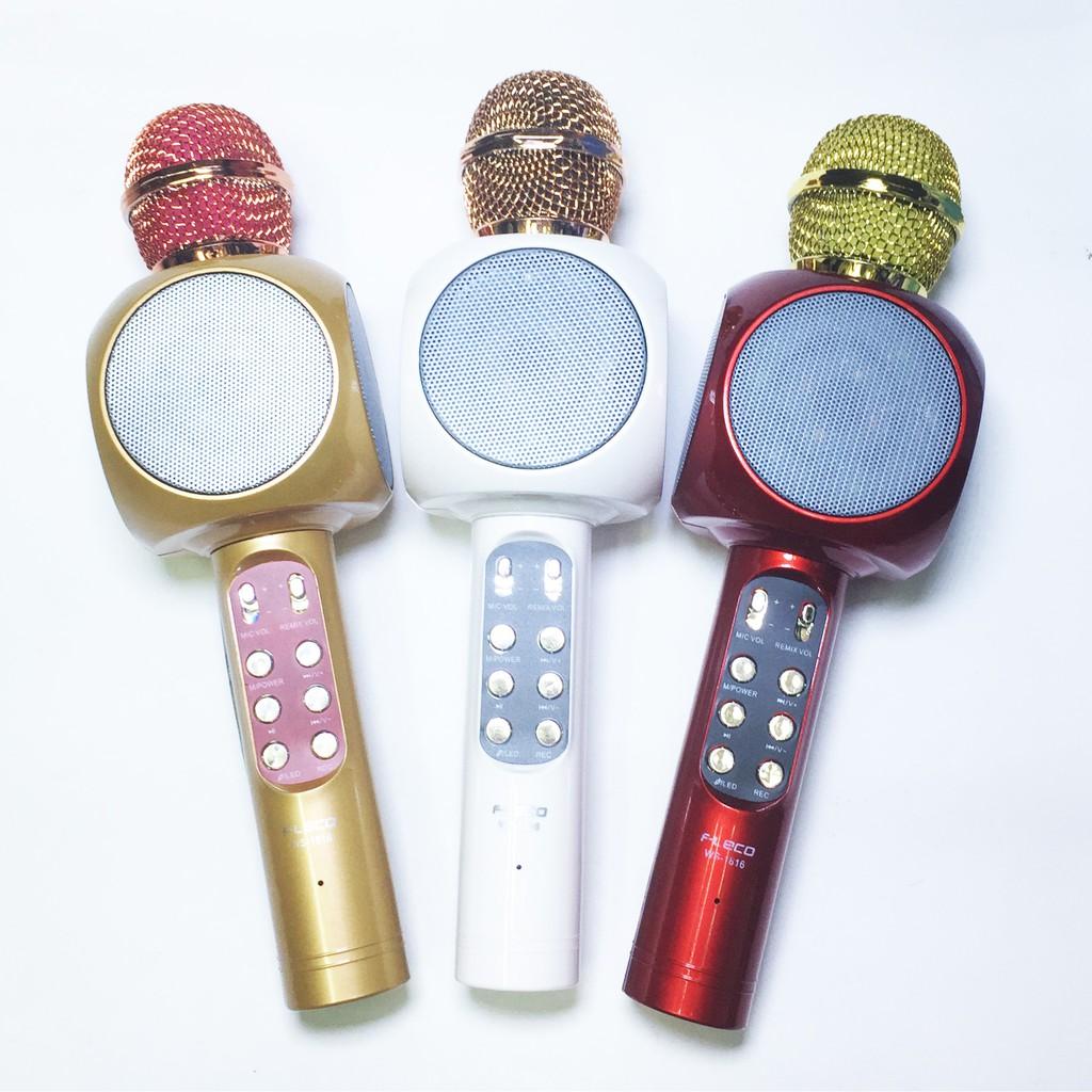 Mic Mikrofon Karaoke Bluetooth Q7 Q9 Ws 858 Ws858 Microphone Smule Wster Original Wireless Ktv Portable Player Shopee Indonesia
