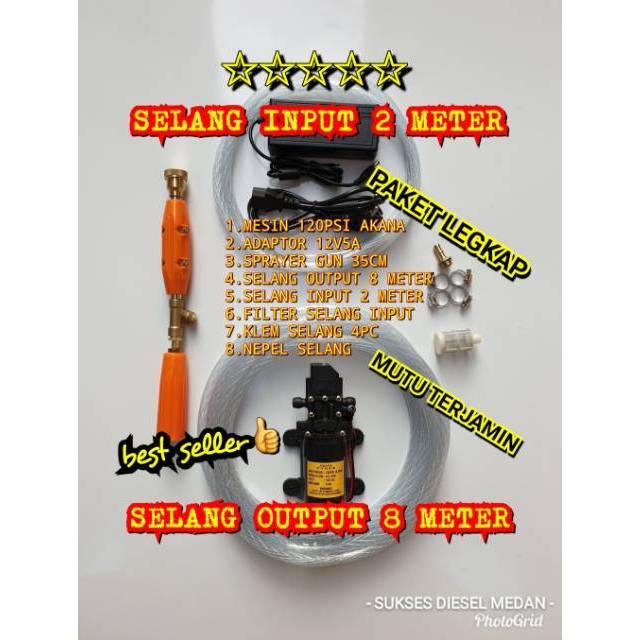 Alat Steam Cuci Motor Salju Mobil Cuci Ac Doorsmer Portabel 100 Psi High Pressure | Shopee Indonesia