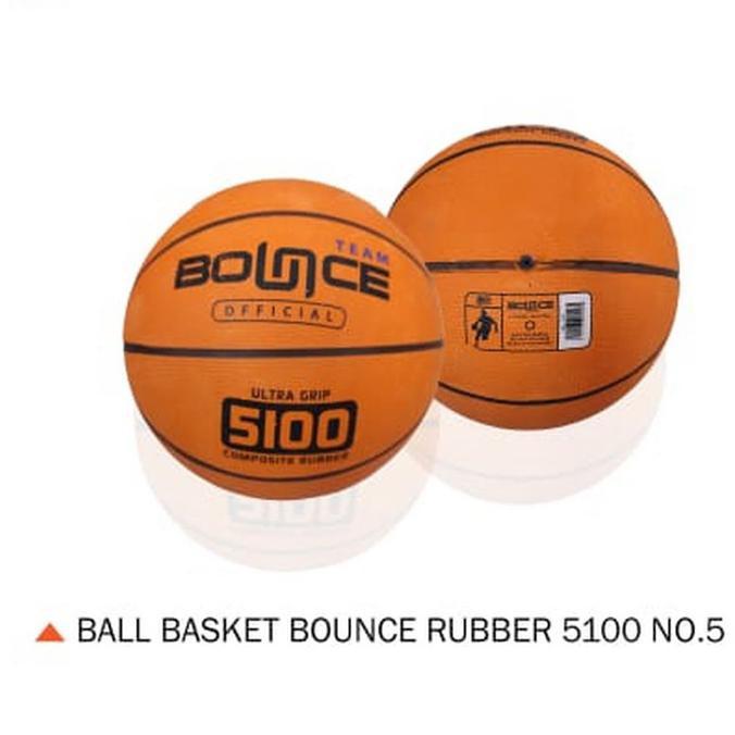 Bess Seller bola basket outdoor>> Bola Basket BOUNCE Murah Bagus Size 5 BolaBasketTermurah